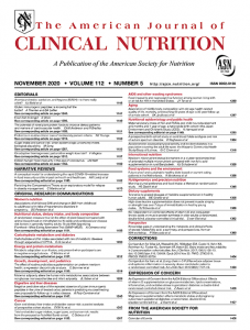 american journal of nutrition
